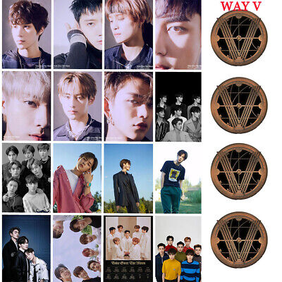 Kpop WAYV Mini 2nd Album Take Over The Moon Photocard Lucas TEN KUN Hendery WIN