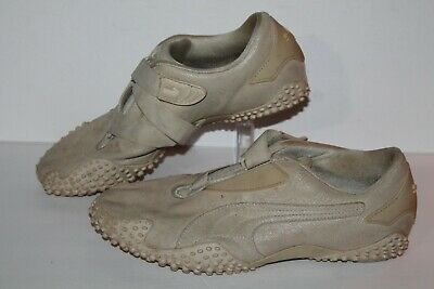 PUMA MOSTRO PERF Ext style#341953 03 vintage LEATHER SHOES