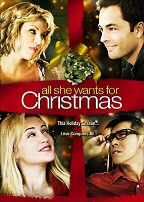 All She Wants For Christmas [DVD] NEW!