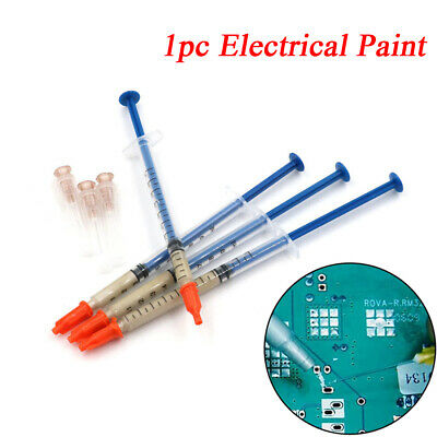 Silver PCB Electrical Paint Conduction Paste Glue Wire Conductive Adhesive