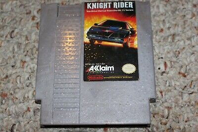 Knight Rider (Nintendo Entertainment System NES) Cart Only FAIR