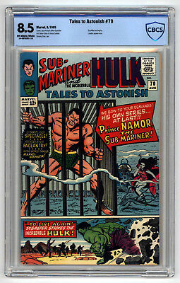 L6183: Tales to Astonish #70, Vol 1, Graded 8.5 CBCS