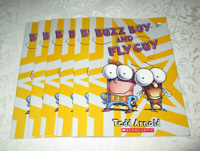 Buzz Boy And Fly Guy Tedd Arnold (Set of 6, Level J) NEW Guided Reading