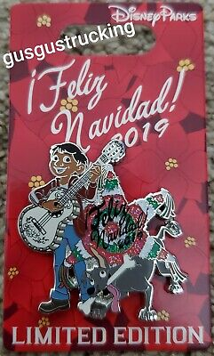 New Disney Parks Pin (Festival of Holidays - Feliz Navidad 2019 Coco) LE3000