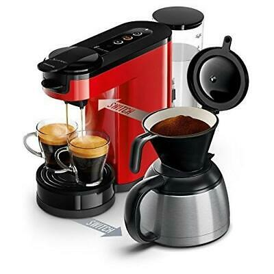 Cafetière Senseo Switch Rouge Philips Hd6592/81