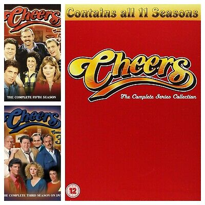 Cheers DVD Season 1 2 3 4 5 6 7 8 9+ Complete 1-11 Collection Series Box Sets