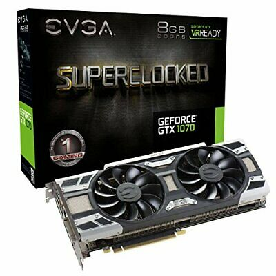 EVGA GeForce GTX 1070 SC GAMING ACX 3.0, 8GB GDDR5, LED, DX12 OSD SUPPORT