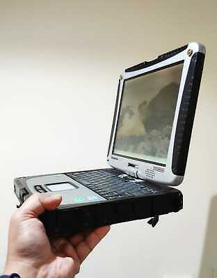 Panasonic ToughBook CF-19 i5 Processor 2.50GHz RUGGED RS232 + Win7 Pro + Charger