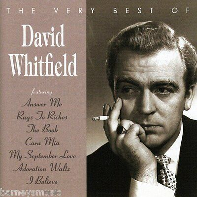 David Whitfield ( New Sealed Cd ) The Very Best Of Greatest Hits Collection