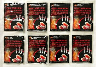 8 Pairs Little Hotties Hand Warmers Fishing,SKIING,Walking,Camping -Exp. 07/2024