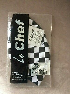 Chef Hat  Scull Cap Size Large - Le Chef