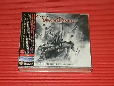 2019 Japan 2 Cd Vision Divine When All The Heroes Are Dead With Bonus Track