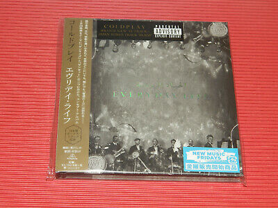 2019 Japan Cd Coldplay Everyday Life With Bonus Track 1St Press With Postcard