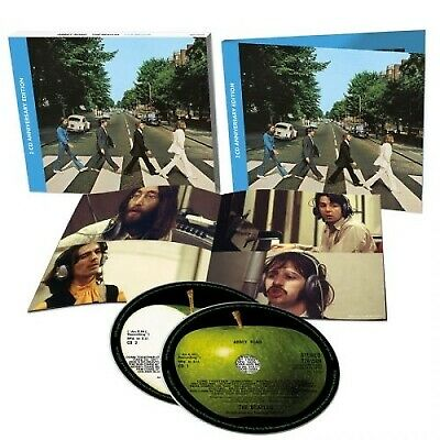 "2CD THE BEATLES ""ABBEY ROAD -ANNIVERSARY EDITION 2CD-"".New and sealed"