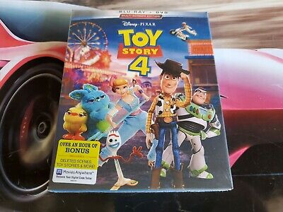 Toy Story 4 (Blu-ray, 2019, 3-Disc Set) Brand New Free Shipping!