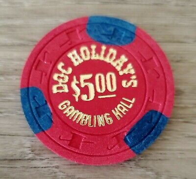 $5 Las Vegas Doc Holiday Casino Chip - Uncirculated
