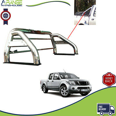 Stainless Steel Sports accessories Roll Bar 76mm 2005-15 Fit Nissan Navara M217