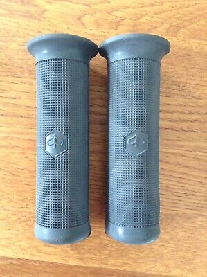 Vespa Handlebar Grips For Indicator Models Grey 120mm NOS