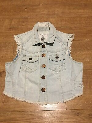 Girls Womens River Island Gilet Vest Size 8
