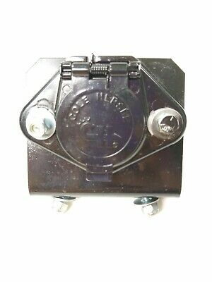 Cole Hersee 7-pole Tractor-Trailer Electrical Plug Connector Truck receptacle