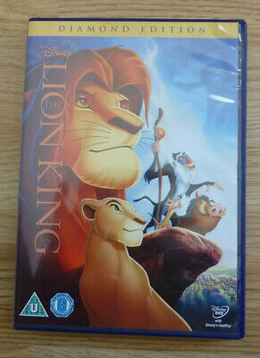 WALT DISNEY CLASSIC DVD - THE LION KING No 32 - DIAMOND EDITION