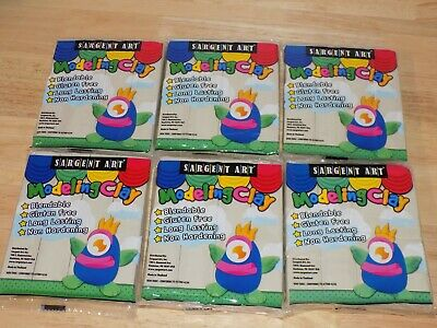 Sargent Art Plastilina Modeling Clay 8 Pounds Cream #22-4000