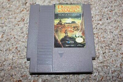 Dungeon Magic (Nintendo Entertainment System NES) Cart Only