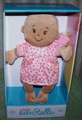 """Wee Baby Stella AA Soft Baby Doll 10.5"""" New"""