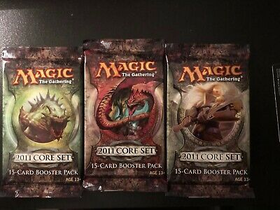 MTG 2011 Core Booster Pack, Factory Sealed Unsearched