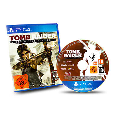 PS4 Playstation 4 Spiel Tomb Raider DefinitIVe Edition Usk 18 in OVP