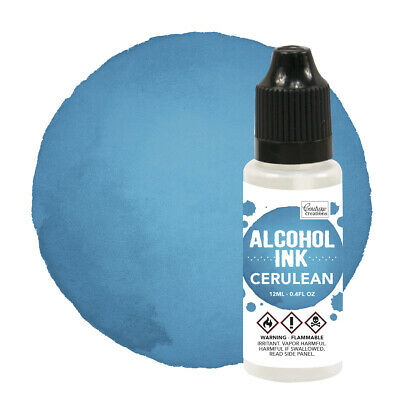 Couture Creations Alcohol Ink Cerulean / Mermaid  12ml