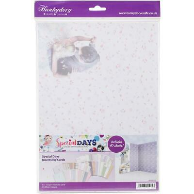 Hunkydory Special Days A4 Luxury Card Inserts  A4, 40pk