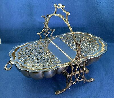 Fenton Brothers Sheffield • Staniforth's • Victorian Silver Plated Biscuit Box
