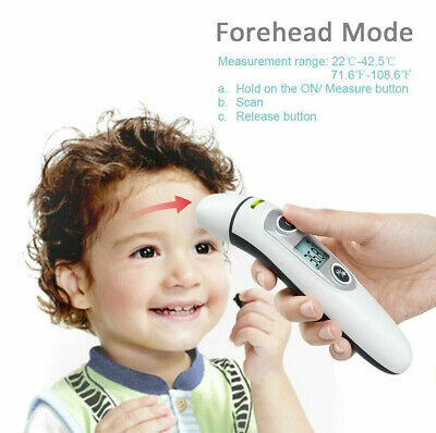 Baby Thermometer Forehead Temporal for Kids Infant Head Digital Ear Accurate B