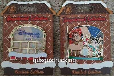 New Disney Parks Pin (Gingerbread 2019 - Disney Hotel Ralph & Vanellope) LE1000