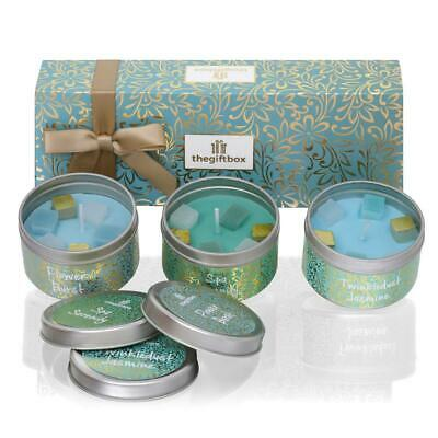 Scented Candle Gift Set, Relax Set and Aromatherapy Gift. Twinklespark