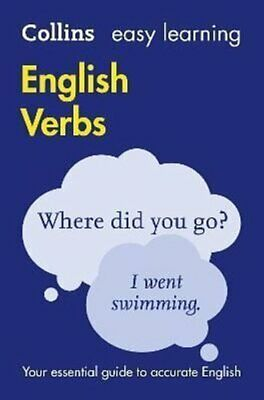 Easy Learning English Verbs 9780008100803 | Brand New | Free UK Shipping