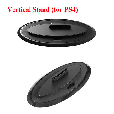 Black Slim Vertical Console Stand for Sony PlayStation 4 PRO & PS4 SLIM m7