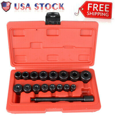 17pcs Universal Clutch Alignment Tool Kit Aligning For All Cars