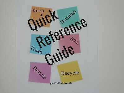 How to Get Organized and Declutter Reference Guide