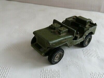 Dinky U.S.A  Army Jeep No.612 Army Figure Unpainted  Metal Casting spare parts