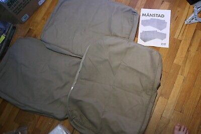 Super Ikea Manstad Couch Original Brown Pillow Covers Cushions Short Links Chair Design For Home Short Linksinfo