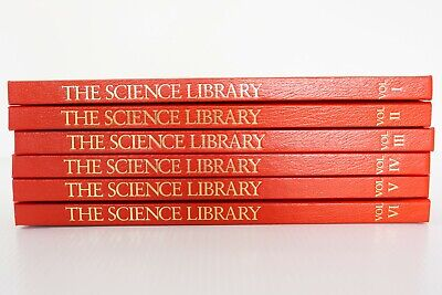 The Science Library Series 6 Books Hardcover Free Post
