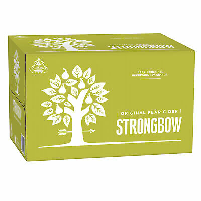 Strongbow Classic Pear Cider 24 x 355mL Bottles