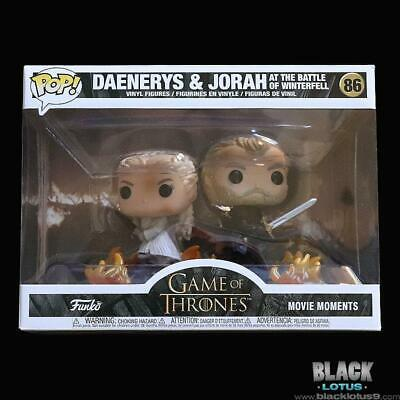 Funko Pop! Daenerys Jorah Battle at Winterfell Game of Thrones IN STOCK Pop 86