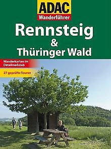 ADAC Wanderführer Rennsteig by Diverse | Book | condition very good