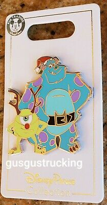 New Disney Parks (2019 Christmas - Mike & Sulley) Open Edition Pin