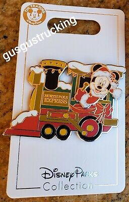 New Disney Parks (2019 Christmas - North Pole Express Mickey) Open Edition Pin