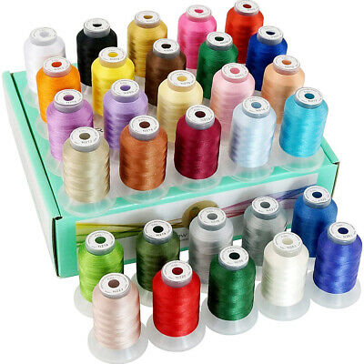 New brothread 30 Janome Colors Polyester Embroidery Machine Thread -Assortment 1