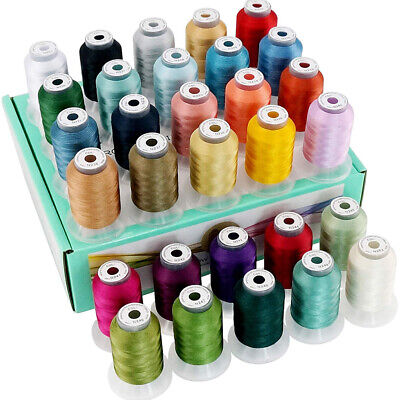 New brothread 30 Janome Colors Polyester Embroidery Machine Thread -Assortment 2